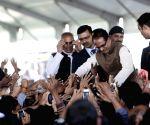 The swearing-in ceremony of Madhya Pradesh Chief Minister Shivraj Singh Chouhan