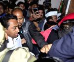 Kamal Nath welcomed at Congress office