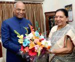 Anandiben Patel calls on President Kovind