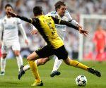 SPAIN MADRID UEFA CHAMPIONS LEAGUE REAL MADRID DORTMUND
