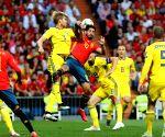 Spain thrash Sweden 3-0 in 2020 European Cup qualifier
