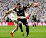 SPAIN MADRID SOCCER UEFA CHAMPIONS LEAGUE REAL MADRID VS AJAX