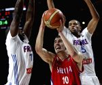 Madrid Serbia v/s France during the FIBA Basketball World Cup Spain 2014