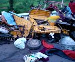 12 killed in truck-auto collision in Telangana