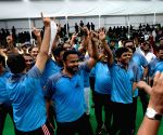 Football match - Maharashtra Assembly MLAs