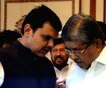 Devendra Fadnavis meets Shiv Sena leaders