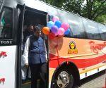 Maharashtra CM launches 'Shivshahi' buses