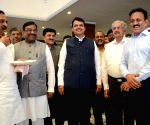 "Tea Party"" - Devendra Fadnavis"