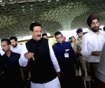 Maharashtra CM at Terminal 2