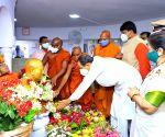 Free Photo: Maharashtra CM UDDHAV THACKERAY paid homage to the Architect of Indian Constitution, Dr. B. R. Ambedkar, on his 130th birth anniversary, at Chaityabhoomi, Dadar on 14 April, 2021..