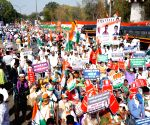 Free Photo: Maharashtra Congress on Saturday 'gheraoed' Nagpur Raj Bhavan to protest 3 farm bills and spiralling fuel prices.