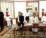 Devendra Fadnavis and Ajit Pawar takes oath as Chief Minister and Deputy Chief Minister