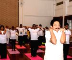 International Day of Yoga - C Vidyasagar Rao