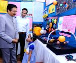 Maharashtra Governor inaugurates inter-school exhibition