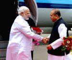 PM at Mumbai Airport
