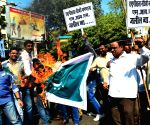 MNS demonstration against Imtiyaz Jalil