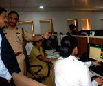 Vijay Deshmukh visits Mumbai traffic headquarters