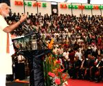 Mahe (Seychelles): Modi addresses at Civic Reception