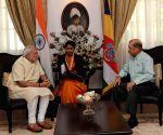 Mahe (Seychelles): Modi meets the President of Seychelles