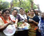 Price Hike: Mahila Congress protest