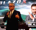 Mahindra Blazo X launch