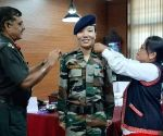 Ponung Doming first woman Lt. Colonel from Arunachal