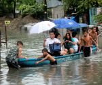 PHILIPPINES MAKATI CITY TROPICAL STORM FLOOD