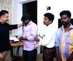 Kamal Haasan meets family of Usha