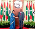 Bilateral talks and Joint Ministerial meeting - Sushma Swaraj, Abdulla Shahid