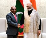 Maldives Foreign Minister meets PM Modi