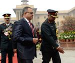 Maldivian Defence Minister in New Delhi