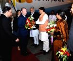 Maltese PM Joseph Muscat arrives in Ahmedabad