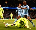 BRITAIN-MANCHESTER-FOOTBALL-CHAMPIONS LEAGUE-ROUND OF 16 1ST LEG-MANCHESTER CITY VS BARCELONA