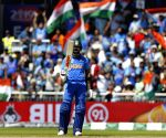 Kohli, Dhoni's half-centuries help India post 268/7