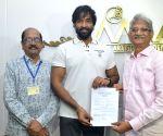Manchu Vishnu Panel Filed Nominations for MAA Elections