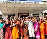 Mandal Revenue Officers' protest