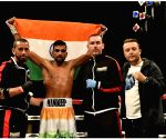 Free Photo:  Mandeep Jangra, hailing from Haryana, won his first match in Pro-Boxing on Friday, 7th May 2021, in the USA..