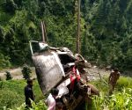 Four killed, two injured as cab falls onto gorge in J&K