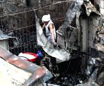 Manila (Philippines): Fire in a slum area