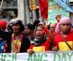 Manila (Philippines): Rally against the militarization