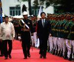 PHILIPPINES MANILA JAPAN PRIME MINISTER VISIT