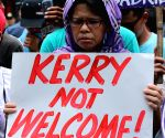 PHILIPPINES MANILA U.S. JOHN KERRY PROTEST RALLY
