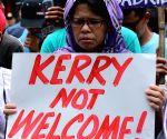 PHILIPPINES MANILA U.S. JOHN KERRY PROTEST RALLY