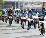 PHILIPPINES-MANILA-WORLD BICYCLE DAY-PLASTIC BAG-FREE DAY