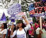 PHILIPPINES MANILA U.S. EMBASSY RALLY