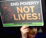 PHILIPPINES MANILA CHILDREN'S RIGHTS RALLY