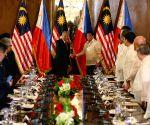 PHILIPPINES MANILA MALAYSIA PM VISIT