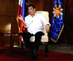 PHILIPPINES-MANILA-PRESIDENT-DUTERTE-CHINESE MEDIA-INTERVIEW