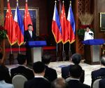 PHILIPPINES-CHINA-XI JINPING-DUTERTE-TALKS