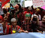 PHILIPPINES MANILA INDIGENOUS PEOPLES PROTEST RALLY